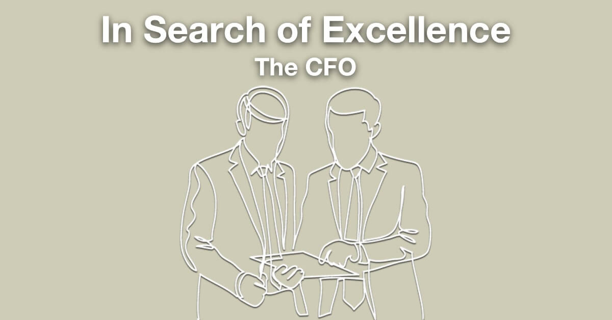 In Search of Excellence: The CFO